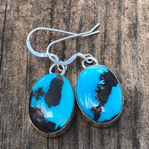 Jewelry - Golden Hills Turquoise Sterling Silver Earrings
